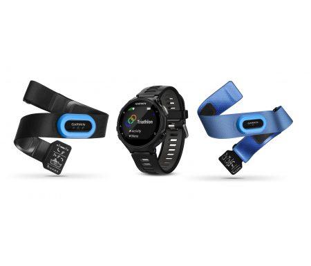 Garmin Forerunner 735XT EU Tri bundle – GPS løbeur – Sort/grå