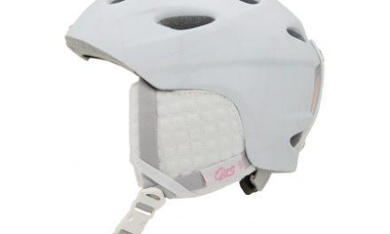 Giro Ember – Dame Skihjelm 52-55,5 cm – Mat hvid med lyserød