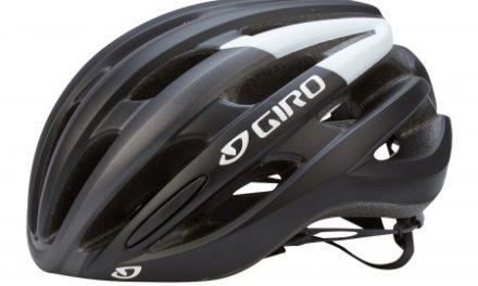 Giro Foray cykelhjelm – Mat Sort/Hvid