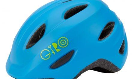 Giro Scamp børnecykelhjelm – Mat blå/lime