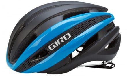 Giro Synthe cykelhjelm – Blå/Mat sort