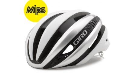 Giro Synthe Mips – Cykelhjelm – Hvid/Sølv