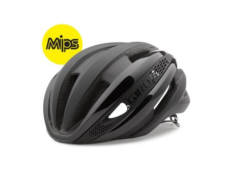 Giro Synthe Mips – Cykelhjelm – Mat Sort