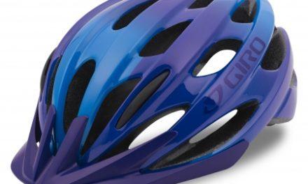 Giro Verona – Cykelhjelm – Str. 50-57 cm – Lilla/blå