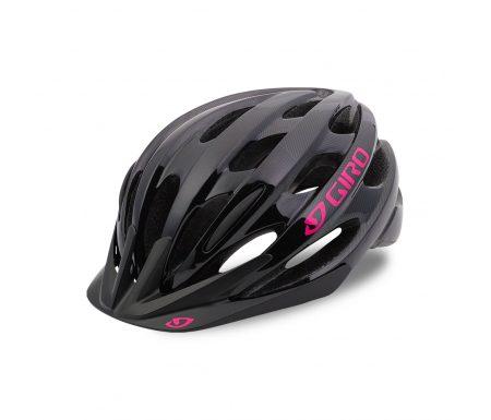 Giro Verona – Cykelhjelm – Str. 50-57 cm – Sort med pink detaljer