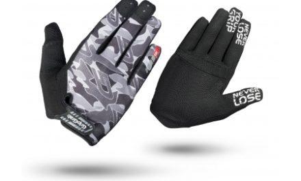 GripGrab 1041 Rebel – Cykelhandsker til MTB – Lang – Grå camouflage