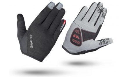 GripGrab 1043 Shark – Cykelhandsker til MTB – Sort – Lang