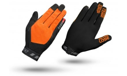 GripGrab 1064 Vertical – Cykelhandsker til MTB – Lang – Orange/Sort
