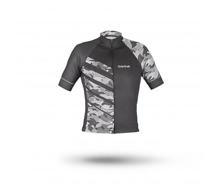 GripGrab 6003 Race Jersey Men – Cykeltrøje med korte ærmer – Grå Camo