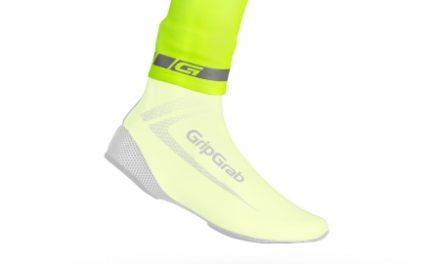 GripGrab – HI-VIS CyclingGaiter – Neon Gul