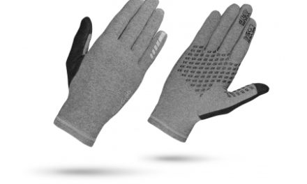 GripGrab Insulator – Dame touchskærm cykelhandske – Grå