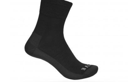 GripGrab Merino Lightweight Sock SL 3015 – Cykelstrømpe – Sort
