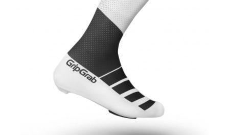GripGrab RaceAero TT skoovertræk – sort/hvid