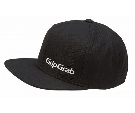 GripGrab Snapback Cap – Sort – One size