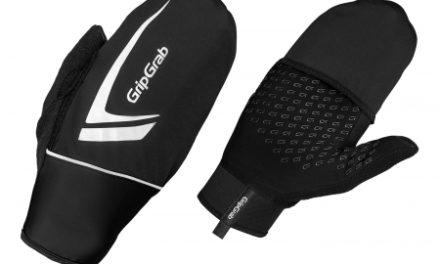 GripGrab Thermo løbehandske – Sort