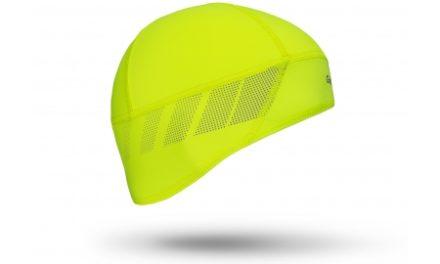 GripGrab Windproof Hi-Vis Skull Cap – Hjelmhue 5037 – Neon gul