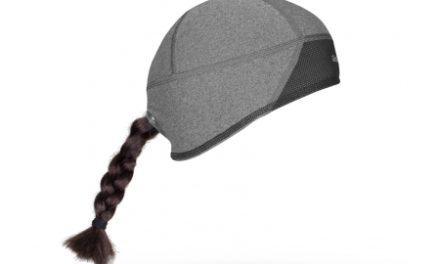 GripGrab windproof skull cap – Vindtæt dame hjelmhue – Grå