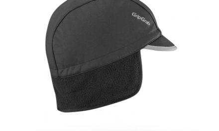 GripGrab Winter Cap – Cykelhue med skygge – Sort