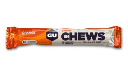 GU Chews – Energi vingummi – Orange – 54 gram