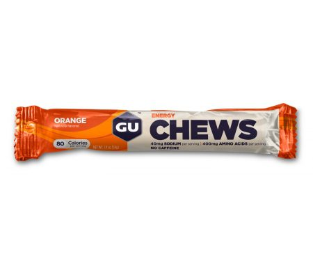 GU Chews – Energi vingummi – Orange – 54 gram