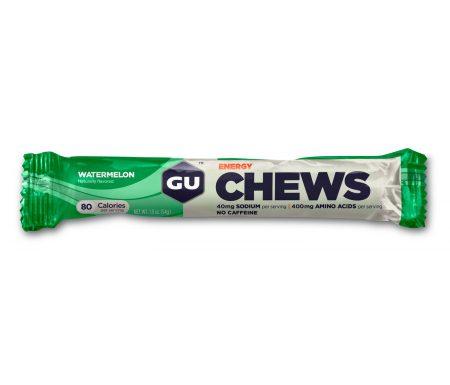 GU Chews – Energi vingummi – Watermelon – 54 gram