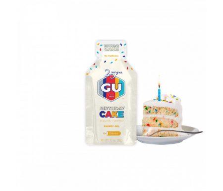 GU Energy Gel – Birthday Cake – 32 gram