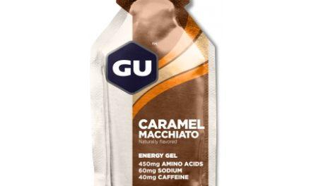GU Energy Gel – Caramel Macchiato – 40 mg koffein – 32 gram
