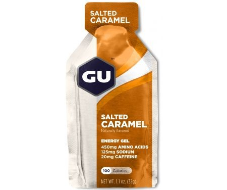 GU Energy Gel – Salted Caramel – 20 mg koffein – 32 gram