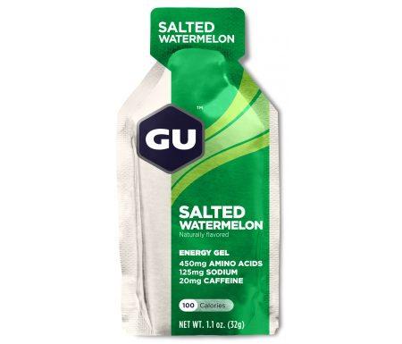 GU Energy Gel – Salted Watermelon – 20 mg koffein – 32 gram