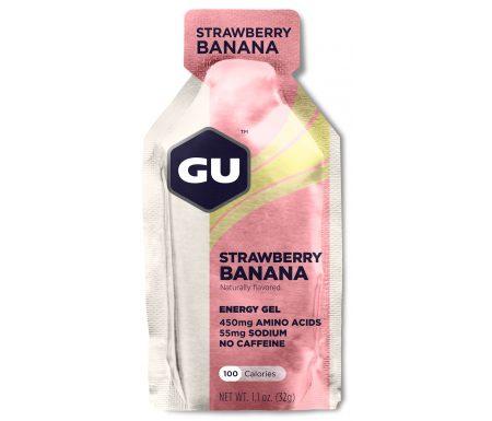 GU Energy Gel – Strawberry Banana – 32 gram
