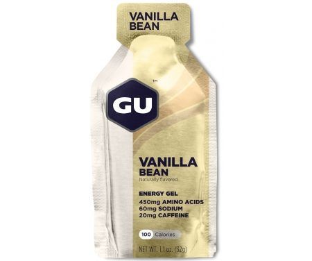 GU Energy Gel – Vanilla Bean – 20 mg koffein – 32 gram