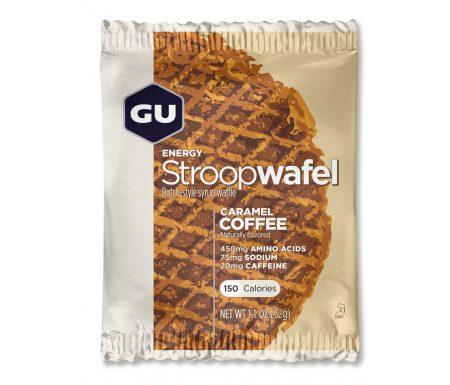 GU Energy Stroopwafel – Caramel Coffee – 20 mg koffein – 32 gram