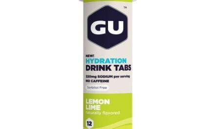 GU Hydration Tabs – Lemon Lime – 1  x 12 stk.