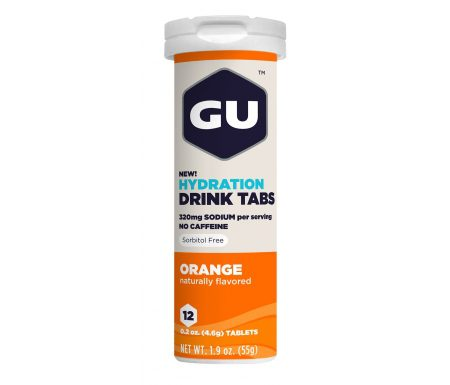 GU Hydration Tabs – Orange – 1  x 12 stk.