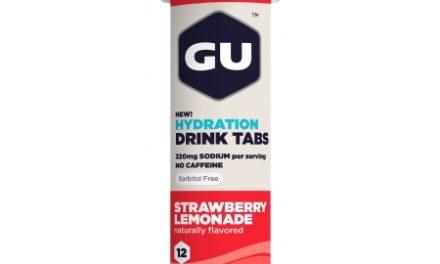 GU Hydration Tabs – Strawberry Lemonade – 1  x 12 stk.