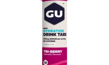 GU Hydration Tabs – Tri-Berry – 1  x 12 stk.