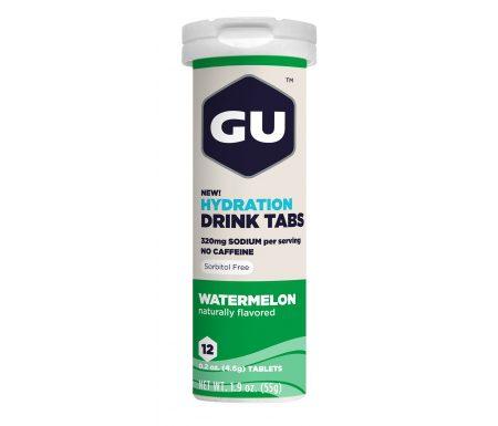 GU Hydration Tabs – Watermelon – 1  x 12 stk.