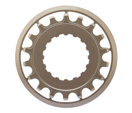 Haibike tandhjul – 18T – Bosch Xduro – Sølv