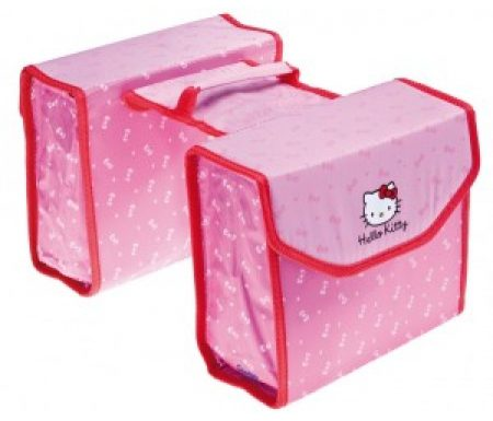 Hello Kitty – Cykeltasker til bagagebærer