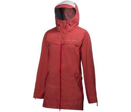 Helly Hansen Calais Coat – Regnjakke til dame – Rød – Str. XL