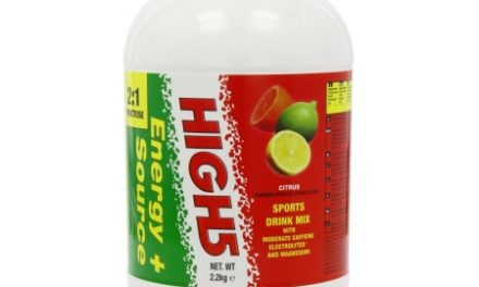 High5 Energy Source Plus – Energidrik med koffein – Citrus 2,2 kg – Testvinder