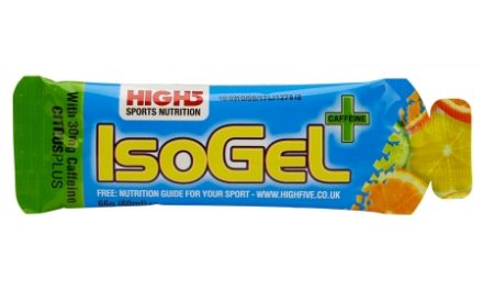 High5 IsoGel+ – Citrus 60 ml – 30 mg koffein