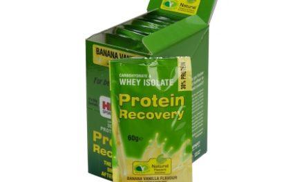 High5 Protein Recovery – Banan / vanilje 9 x 60 gram