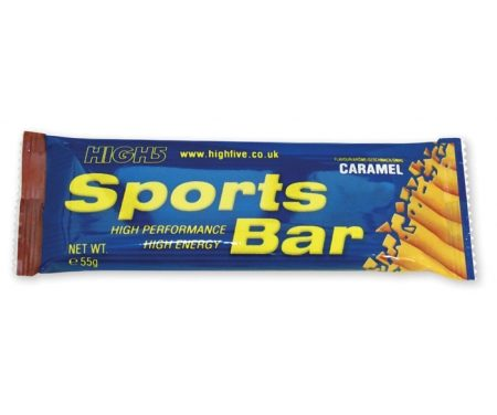 High5 Sportsbar – Karamel 55 gram