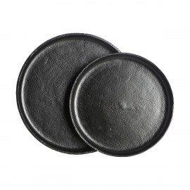 House Doctor Bakke – Ria – Sort aluminium – Sæt af 2 stk. fra