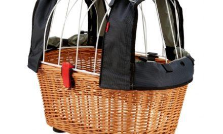Hundekurv KlickFix Doggy GTA med dækken til bagagebærer