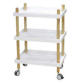 Hvidt rullebord fra Present time fra House Doctor