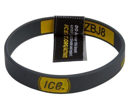 ICEdot Armbånd med unik redningskode