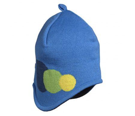 Isbjörn Bubbles Knitted Cap – Hue – Blå – Str. 48/50cm