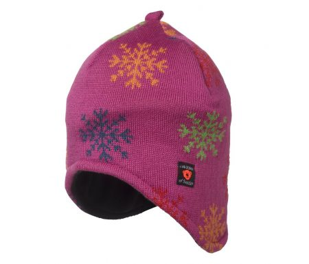 Isbjörn of Sweden Snowflake Knitted – Hue – Pink